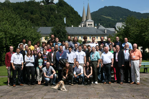 ESA Summer School 2011 Group Picture at Berchtesgaden